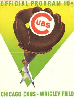Program for the 1958 Chicago Cubs