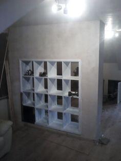 Expedit built in room divider