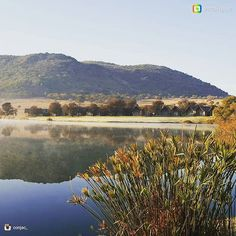 A beautiful crisp winter morning at Kloofzicht Lodge & Spa. Thanks so much for taking these amazing photographs We love to share your experiences. Morning View, Closer To Nature, Hotel Spa, Lodges, Crisp, Photographs, River, Photo And Video, Mountains
