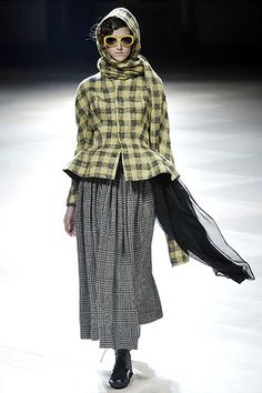 yohji yamamoto fall 2008 ready to wear collection stylecom