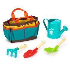 Sac de jardinage avec accessoires Vilac pour enfant de 3 ans à 8 ans - Oxybul éveil et jeux