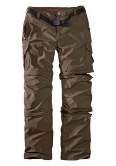 Travex® Zip-Off-Hose mit Cargotaschen Eddie Bauer, Life Is An Adventure, My Wardrobe, Parachute Pants, Layers, Tank Tops, Scream, Backpacking, Beats