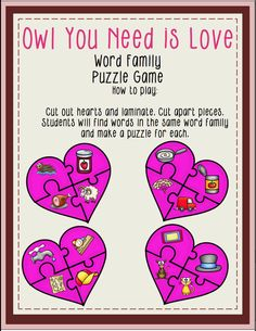 Valentines Math and Literacy Unit