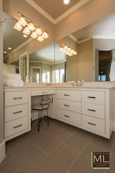 Beacon Hill Luxury Lake-house Design | Bathroom Design by Michelle Lynne Interiors Group