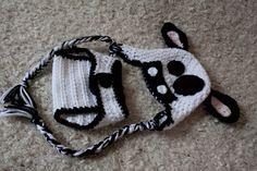 Crochet Korner Crochet Cow Hat And Diaper Cover by CrochetKorner, $24.00