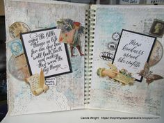 The Pretty Paper Patisserie: GECKO GALZ DESIGN TEAM REVEAL - MIXED MEDIA ART JO...