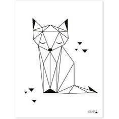 Image result for origami fox clipart