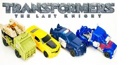 NEW Transformers One Step Changers From The Last Knight. Wave 1Turbo Changers Include Optimus Prime Bumblebee Barricade and Autobot Hound. Watch For More Transformers Toys Coming Soon!  More Transformers Toys:  Transformers Robots in Disguise McDonalds Happy Meal Toys Bumblebee Optimus Prime - https://youtu.be/p67fBidosFs  Transformers Generations Combiner Wars Voyager ONSLAUGHT Kids Toy Action Figure - https://youtu.be/rj7ZZjLjIH0?list=PL-diNw5n7OXm97kXwO9xz2d_IdlBhUmcm  Transformers One…