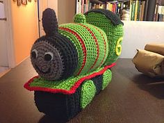 Percy the Train ~ free pattern ᛡ