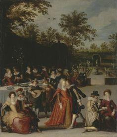 Allegory of the Five Sens - Caullery Louis de
