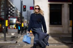 Candice Lake shows us what's popping on the streets of #LondonFashionWeek #streetstyle