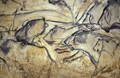 A fact that never ceases to make me smile...Our human cousins painted these 30,000 years ago.  (lions, horses, and aurochs at Chauvet Cave, France)