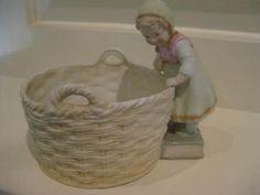 Antique Heubach bisque figurine