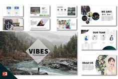 Vibes Minimal Clean Presentation  by JYXD on @creativemarket