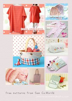 Free Japanese Sewing Patterns – Sew.Co World by Brother » Japanese Sewing, Pattern, Craft Books and Fabrics