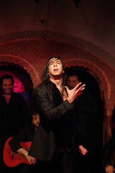"""José Maya en una actuación en Tablao Cordobés el año 2012 en el ciclo """"La Aristocracia del Flamenco III"""""""