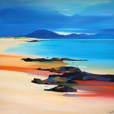 "Take Off To Barra 32""x32"""