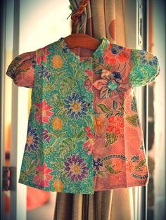 dress batik anak batik pekalongan