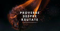 Descoperă colecția noastră de proverbe despre răutate, pe care sperăm să le citească doar oameni buni :) Așa că, că click pentru a citi proverbele doar dacă ești un om bun!