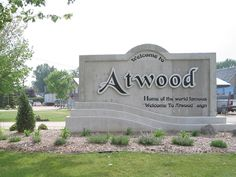 I've not been to Atwood, but I like their sign.