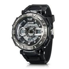 IXHIM Multifunctional men's sports watches, Sports Watches for Men Big Watches, Fossil Watches, Cool Watches, Mens Sport Watches, Luxury Watches For Men, Best Sports Watch, Watch Drawing, Casio Watch, Fashion Watches