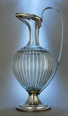 Founded 1885 - later transformed in Hukin & Heath Glass Vessel, Glass Art, Antique Glass, Antique Silver, Crystal Decanter, Vintage Wine, Milk Glass, Pottery, Metal