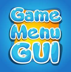 Game gui part by mohamad abd alkarem, via Behance