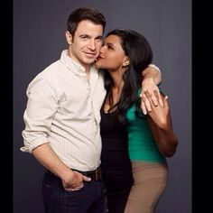 Mindy and Danny