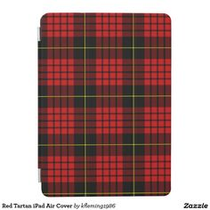 Red Tartan iPad Air Cover