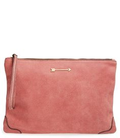 Dusty Rose Clutch / @nordstrom #nordstrom