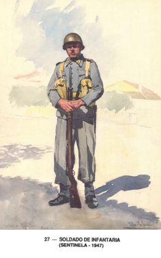 Spanish Army, - pin by Paolo Marzioli Military Art, Military History, Armed Forces, Troops, Ww2, World War, Army, Poster, Spanish