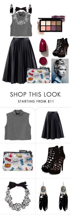 """""""Untitled #67"""" by hien-anhhs on Polyvore featuring Monki, Vans, J.Crew, NARS Cosmetics, women's clothing, women's fashion, women, female, woman and misses"""