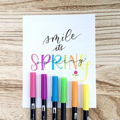 smile it's Spring