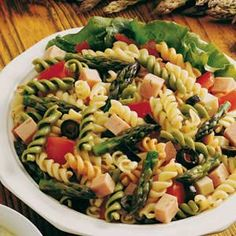 Asparagus Pasta Salad recipe from Taste of Home