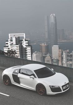 Audi R8 In HKG, Where The Density Of Supercar Presence Is Comparable To  Monaco.
