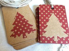 handmade christmas tags | Request a custom order and have something made just for you.