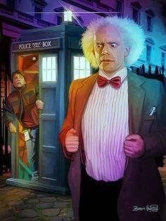 """DOCTOR WHO - """"Nom de Zeus !"""" (Back to the future)"""