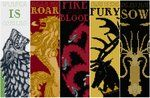 Game of Thrones: Bookmarks - Cross Stitch Patterns by *black-lupin on deviantART