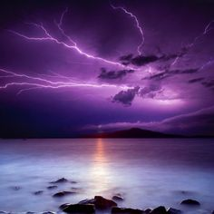 Thunder & Lightning By The Ocean Cd, Natural Sounds, The Sea, Waves, Sleep Aid Beautiful Sky, Beautiful World, Beautiful Pictures, All Nature, Amazing Nature, 4k Photography, Portrait Photography, Wedding Photography, Photography Classes