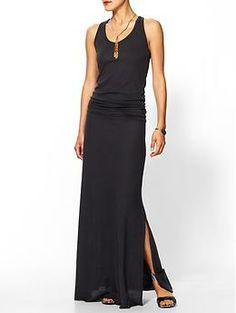 slouchy? cotton? 68 bucks? SOLD - Alternative Go Fish Maxi Dress | Piperlime