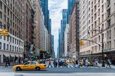 Street of New York – Banco de IMÁGENES