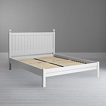 Buy Oak John Lewis Croft Collection Lomond Bedstead, Kingsize from our Croft Collection range at John Lewis & Partners. Home Bedroom, Bedroom Furniture, Bedroom Ideas, Master Bedroom, King Size Bed Frame, Striped Bedding, Types Of Beds, Rest And Relaxation, Panel Headboard