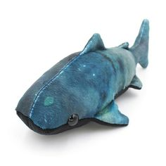A beautiful galaxy ocean whale shark made from my whale shark sewing pattern.