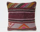 kilim pillow vintage home decor burlap throw pillow victorian decor floor pillow sham outdoor decor tribal cushion cover couch pillow 25849