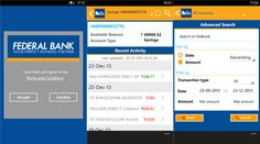 Federal Bank India FedBook use applications Windows Phone 8 devices   Federal Bank of India, which has already received the official banking...