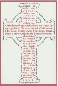 St. Patrick's Prayer, a daily prayer for Lent...