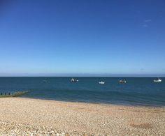 #lovelyevening #eveningwalk #beach #selsey #freshair #seaair #pebblebeach #selsey #westsussex #blueskies #nofilter #uk #summer #montereylocals #pebblebeachlocals - posted by Liz Thomas https://www.instagram.com/new_beach_life_2017 - See more of Pebble Beach at http://pebblebeachlocals.com/