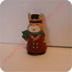 1995 Caroling Bunny - Merry Miniature 2.95