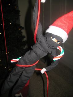 Santa Ninja by rubyandmyrtle, via Flickr