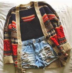 Stylish Sweater With Shorts